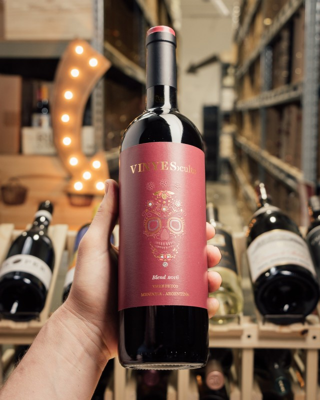 Vinyes Ocults Red Blend Valle du Uco 2016  - First Bottle