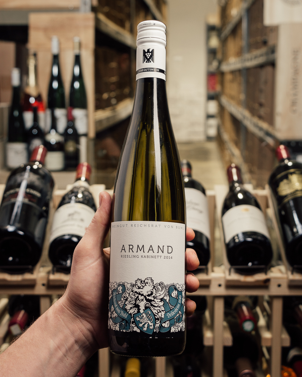 Von Buhl Armand Kabinett Riesling 2014  - First Bottle