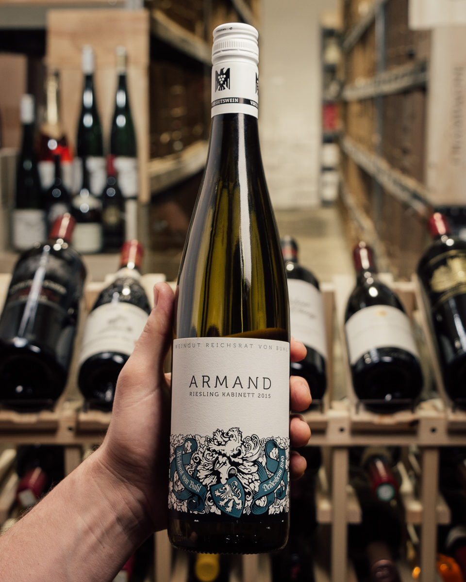 Von Buhl Riesling Kabinett Armand 2015  - First Bottle