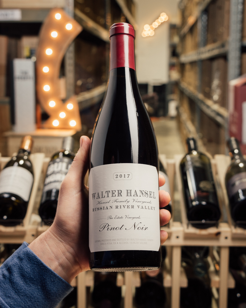 Walter Hansel Pinot Noir Estate 2017  - First Bottle
