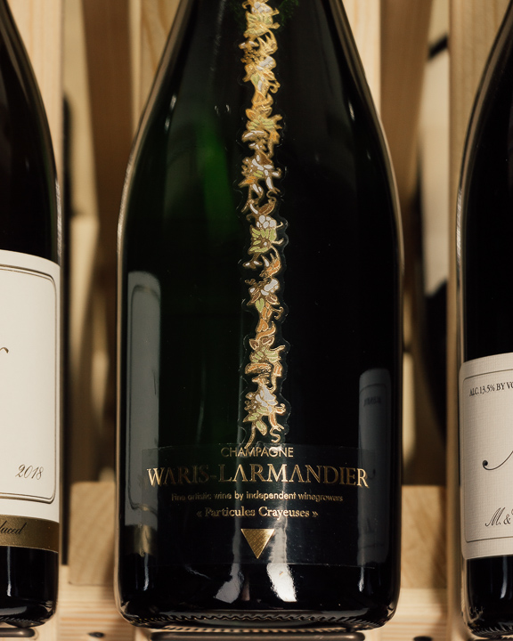 Waris-Larmandier Blanc de Blancs Particules Crayeuses Grand Cru Brut NV  - First Bottle