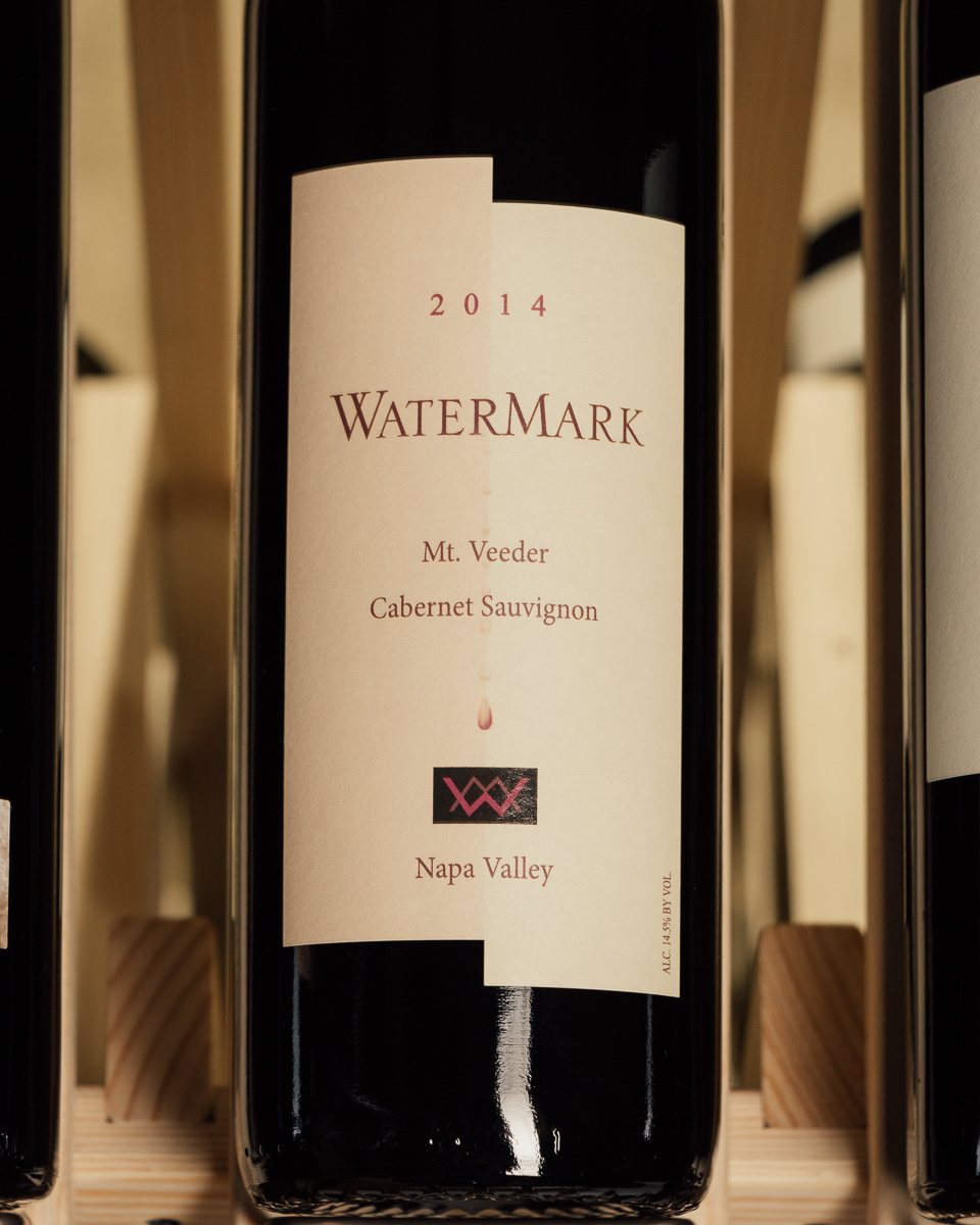WaterMark Cabernet Sauvignon Mt. Veeder 2014  - First Bottle