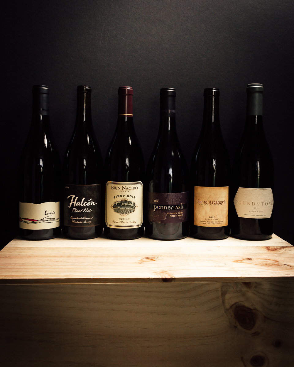 West Coast Pinot 6-pack Collection (6-750mL)  - First Bottle