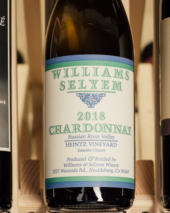 Williams Selyem Chardonnay Heintz Russian River 2018