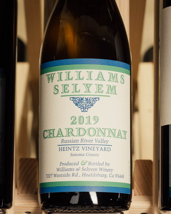Williams Selyem Chardonnay Heintz Vineyard 2019