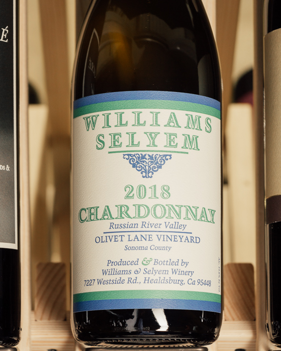 Williams Selyem Chardonnay Olivet Lane Russian River 2018