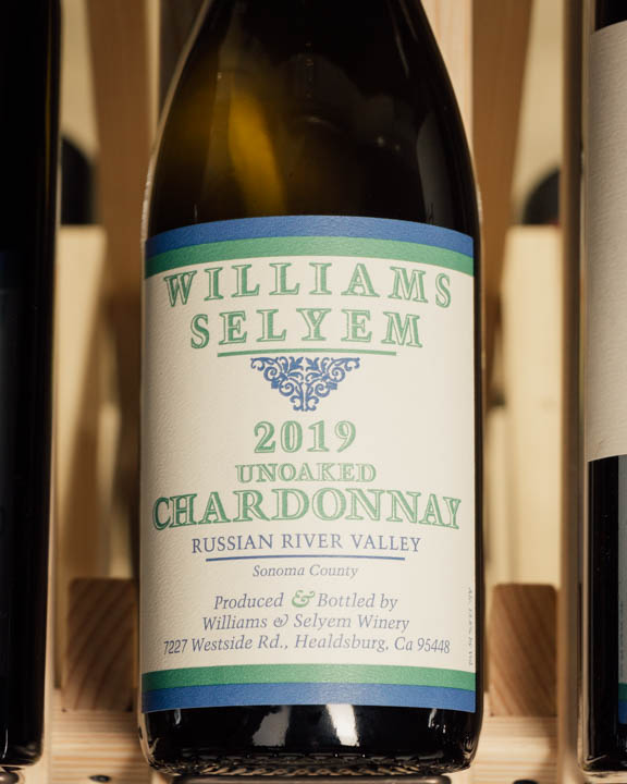 Williams Selyem Chardonnay Unoaked 2019