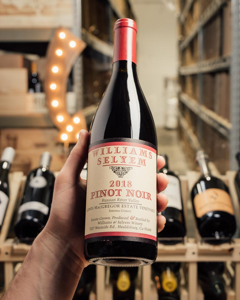 Williams Selyem Lewis MacGregor Estate Pinot Noir 2018  - First Bottle