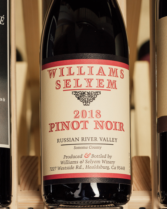 Williams Selyem Pinot Noir Russian River Valley 2018