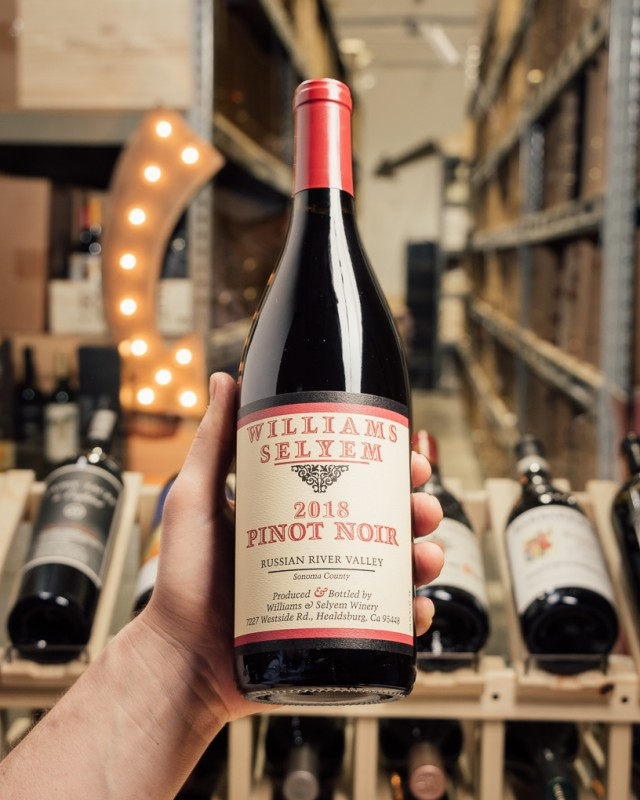 Williams Selyem Pinot Noir Russian River Valley 2018  - First Bottle