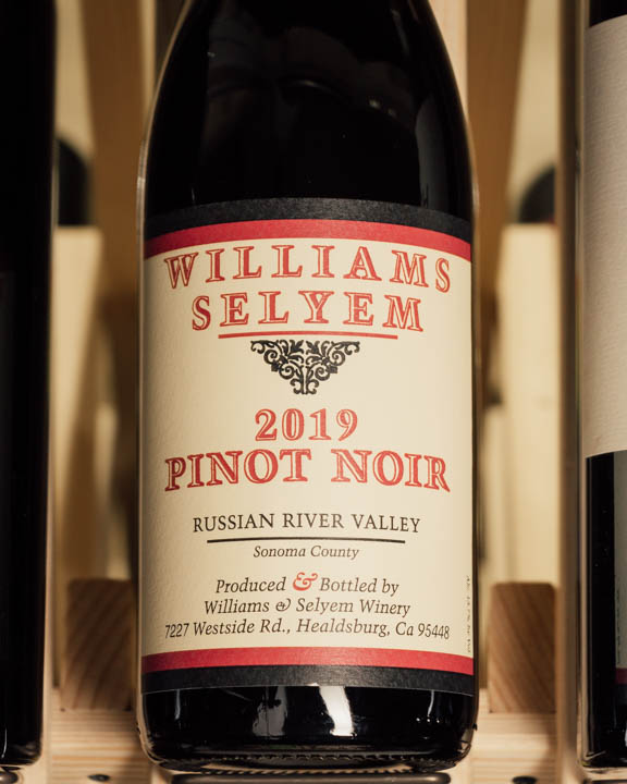 Williams Selyem Pinot Noir Russian River Valley 2019