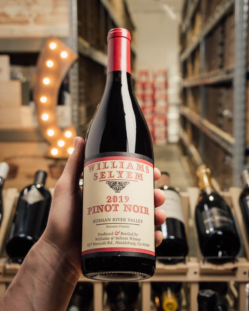 Williams Selyem Pinot Noir Russian River Valley 2019  - First Bottle