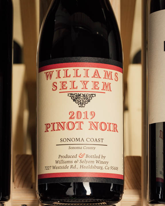 Williams Selyem Pinot Noir Sonoma Coast 2019