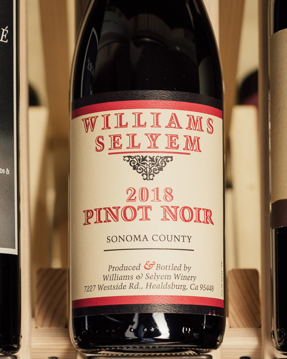 Williams Selyem Pinot Noir Sonoma County 2018