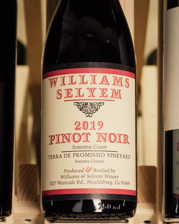 Williams Selyem Pinot Noir Terra De Promissio Vineyard 2019