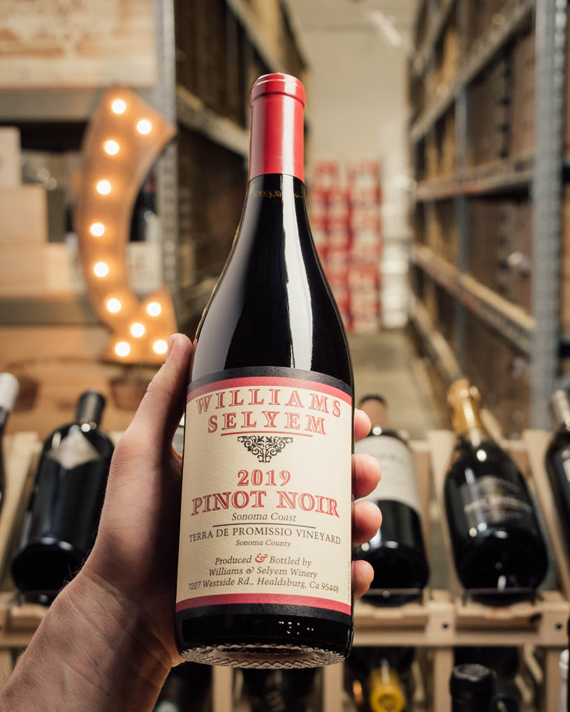 Williams Selyem Pinot Noir Terra De Promissio Vineyard 2019  - First Bottle