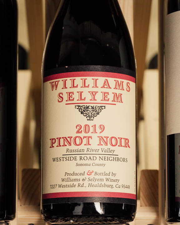 Williams Selyem Pinot Noir Westside Road Neighbors 2019