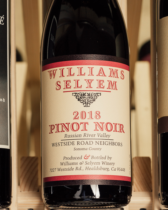 Williams Selyem Pinot Noir Westside Road Neighbors Russian River 2018