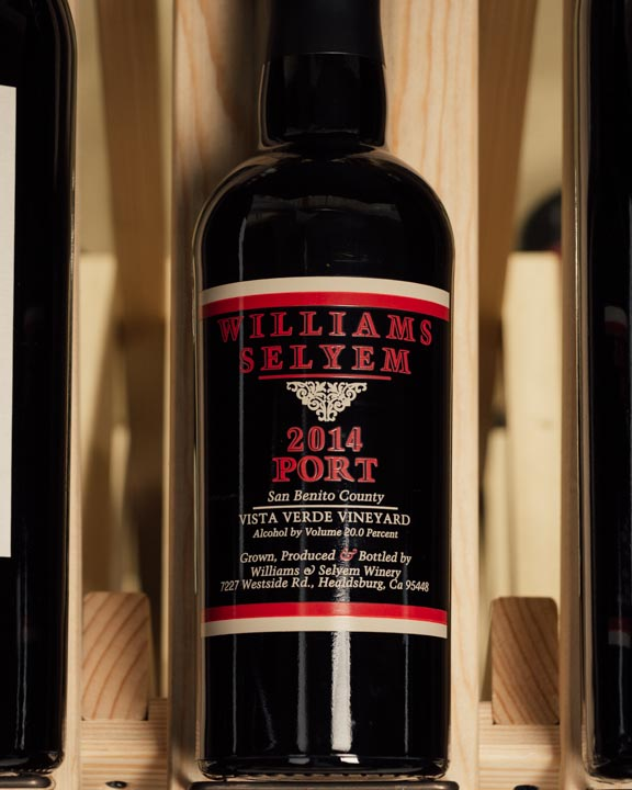 Williams Selyem Port Vista Verde Vineyard 2014 (half bottle 375mL)