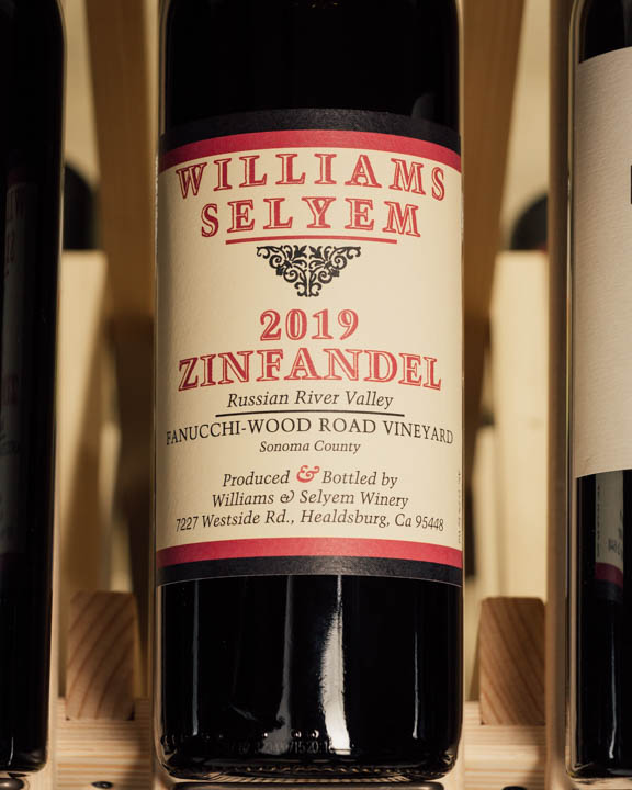 Williams Selyem Zinfandel Fanucchi-Wood Road Vineyard 2019