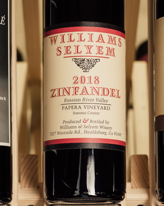 Williams Selyem Zinfandel Papera 2018