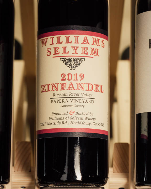 Williams Selyem Zinfandel Papera Vineyard 2019