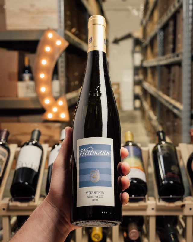 Wittmann Riesling (Dry) Morstein GG 2018  - First Bottle
