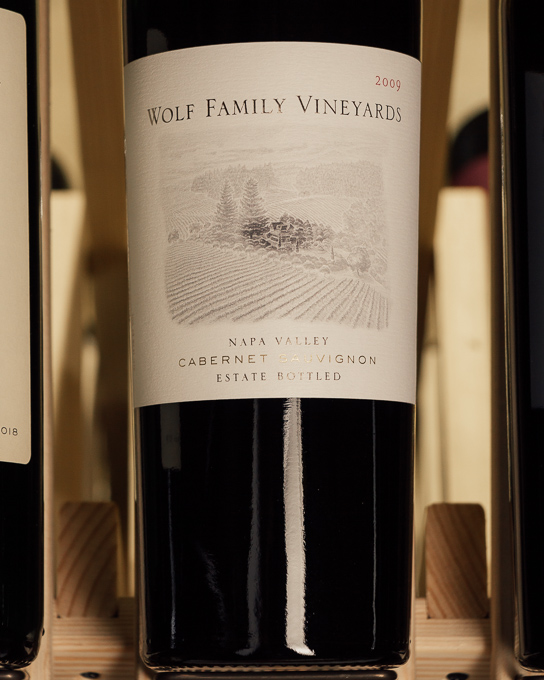 Wolf Family Cabernet Sauvignon Estate 2009