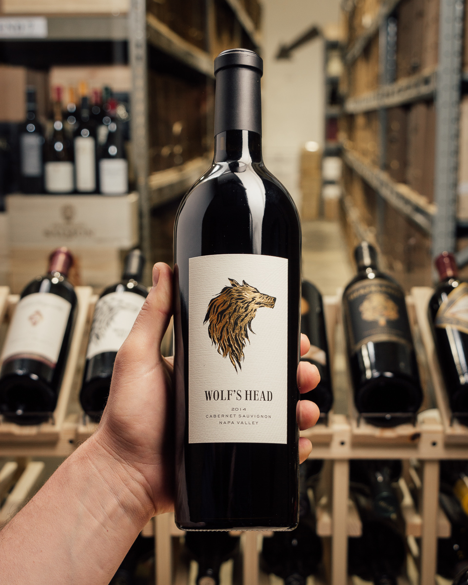 Wolf's Head Cabernet Sauvignon Napa Valley 2014  - First Bottle