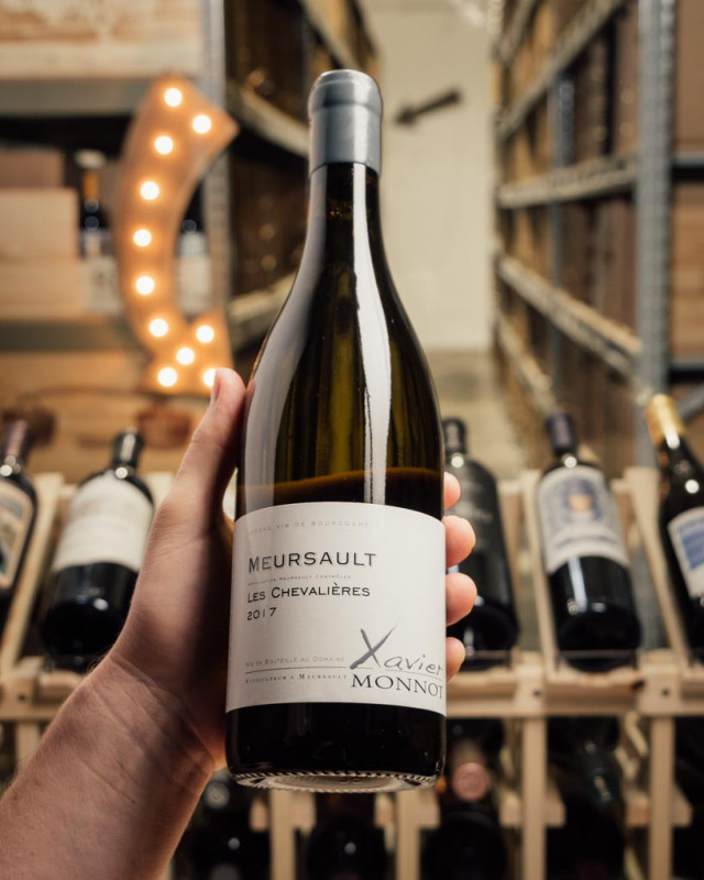 Xavier Monnot Meursault Les Chevalieres 2017  - First Bottle