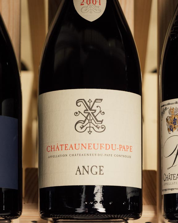 Xavier Vins Chateauneuf du Pape Rouge Ange 2001