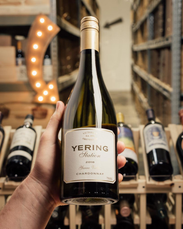 Yering Station Estate Chardonnay Yarra Valley 2018  - First Bottle