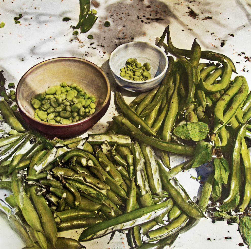 Richard Olney's Fresh Fava Bean Purée - Christopher Lee