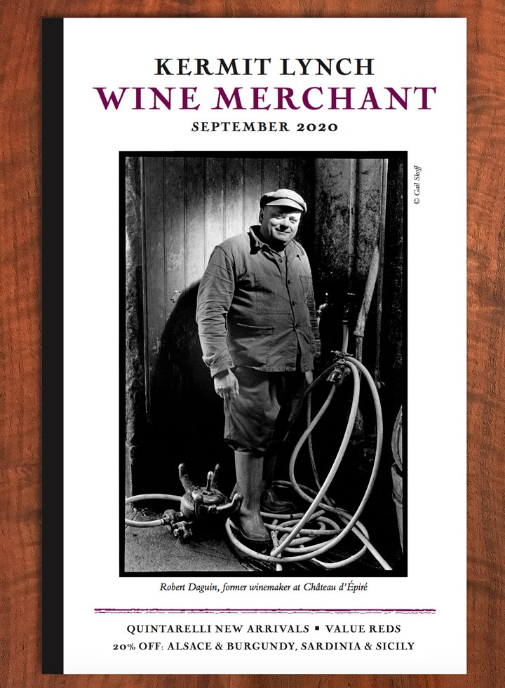 Current Kermit Lynch Wine Merchant newsletter cover