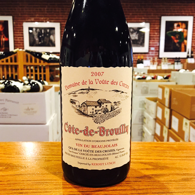 2007 Côte-de-Brouilly Nicole Chanrion - Kermit Lynch Wine Merchant