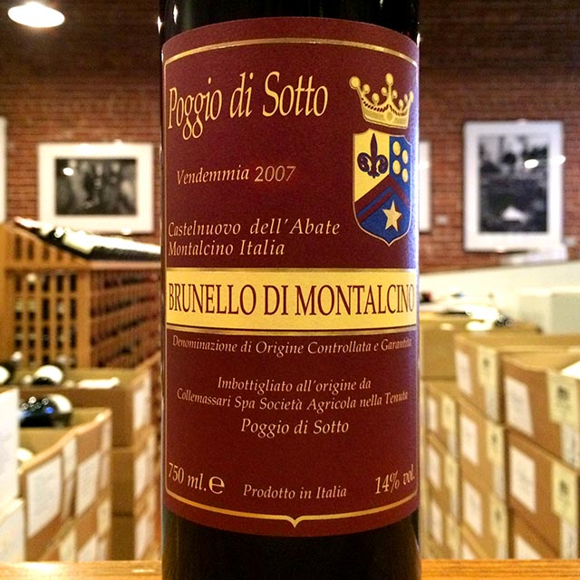 2007 Brunello di Montalcino Poggio di Sotto - Kermit Lynch Wine Merchant