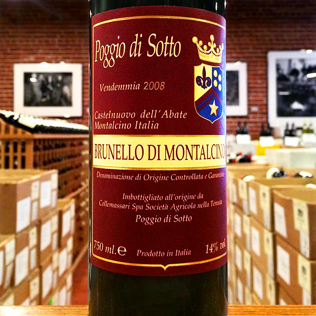2008 Brunello di Montalcino Poggio di Sotto - Kermit Lynch Wine Merchant