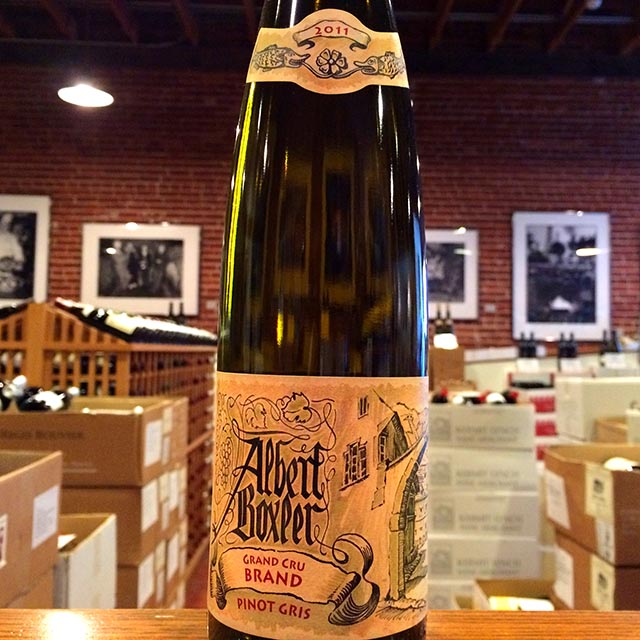 "2011 Pinot Gris Grand Cru ""Brand"" Albert Boxler - Kermit Lynch Wine Merchant"