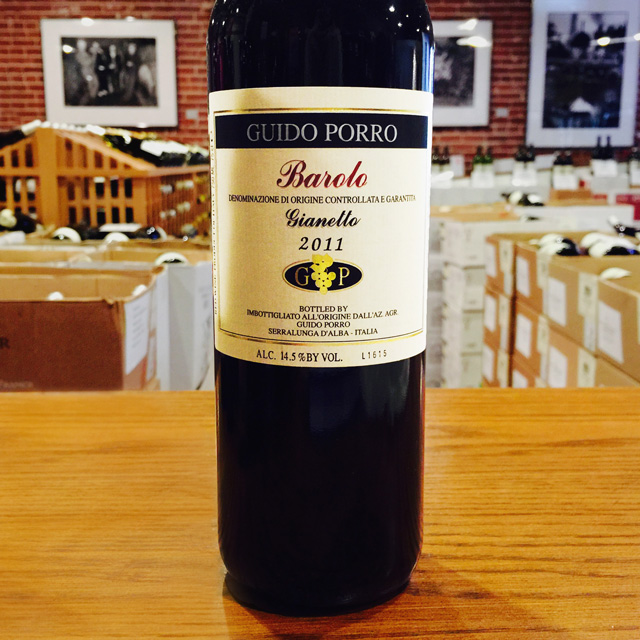"2011 Barolo ""Gianetto"" Guido Porro - Kermit Lynch Wine Merchant"