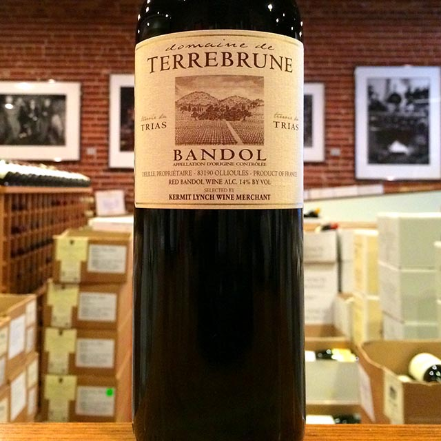 2011 Bandol <i>Rouge</i> Domaine de Terrebrune - Kermit Lynch Wine Merchant