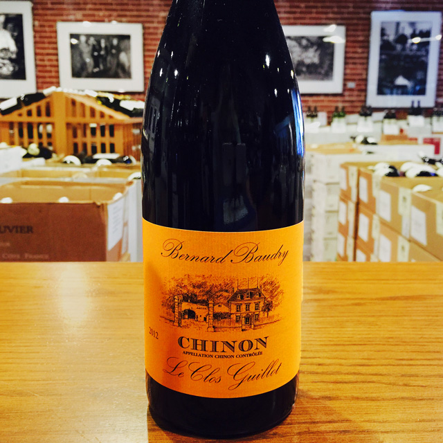 "2012 Chinon ""Le Clos Guillot"" Bernard Baudry - Kermit Lynch Wine Merchant"