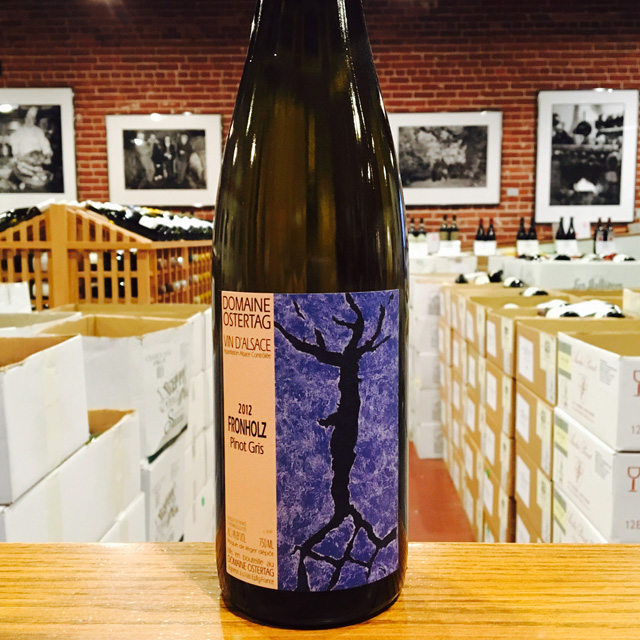 "2012 Pinot Gris ""Fronholz"" Domaine Ostertag - Kermit Lynch Wine Merchant"
