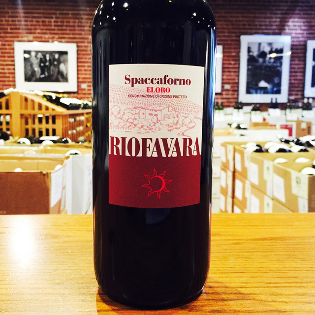 "2012 Eloro ""Spaccaforno"" MAGNUM Riofavara - Kermit Lynch Wine Merchant"