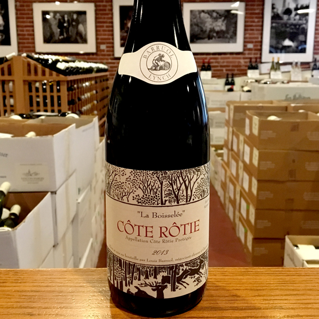 "2013 Côte Rôtie ""La Boisselée"" Barruol / Lynch - Kermit Lynch Wine Merchant"