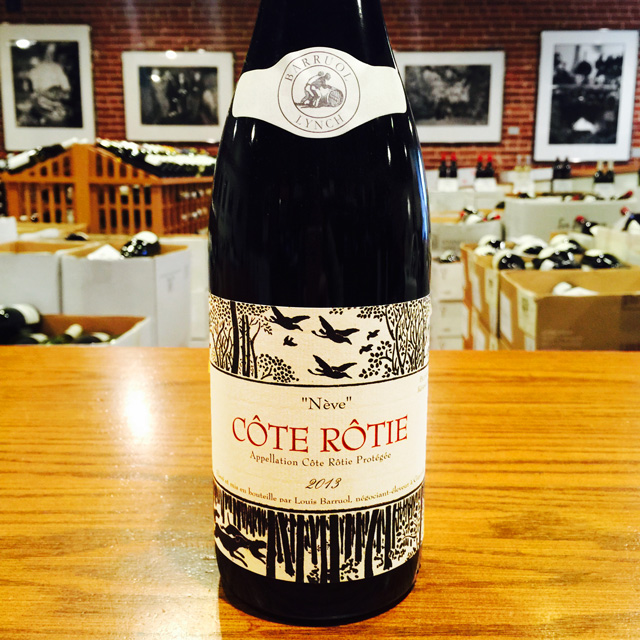 "2013 Côte Rôtie ""Nève"" Barruol / Lynch - Kermit Lynch Wine Merchant"
