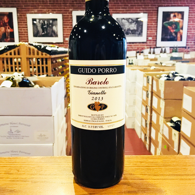 "2013 Barolo ""Gianetto"" Guido Porro"