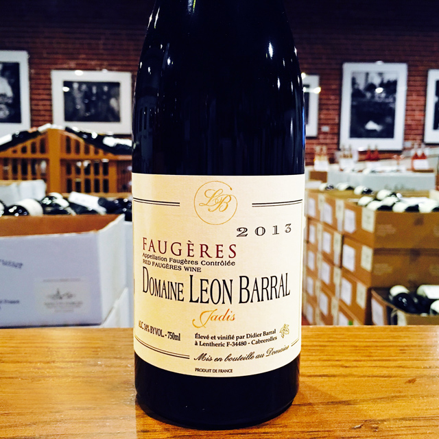 "2013 Faugères ""Jadis"" Domaine Léon Barral - Kermit Lynch Wine Merchant"