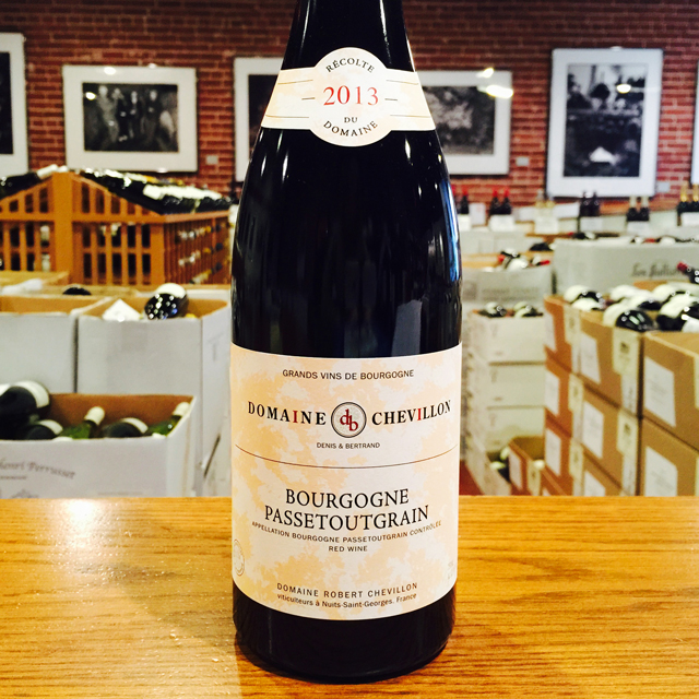 2013 Bourgogne Passetoutgrain Domaine Robert Chevillon - Kermit Lynch Wine Merchant