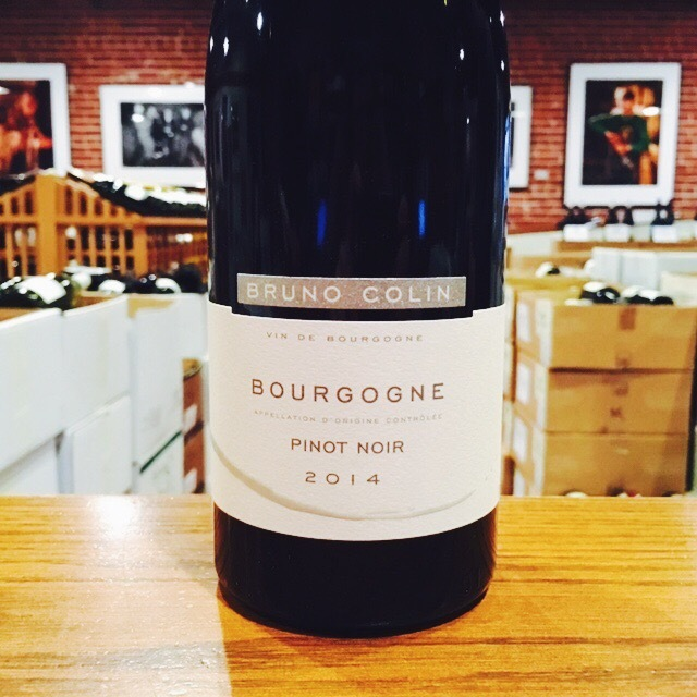 2014 Bourgogne Pinot Noir Bruno Colin - Kermit Lynch Wine Merchant