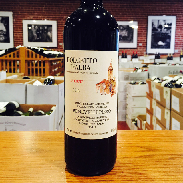 "2014 Dolcetto d'Alba ""La Costa"" Piero Benevelli - Kermit Lynch Wine Merchant"